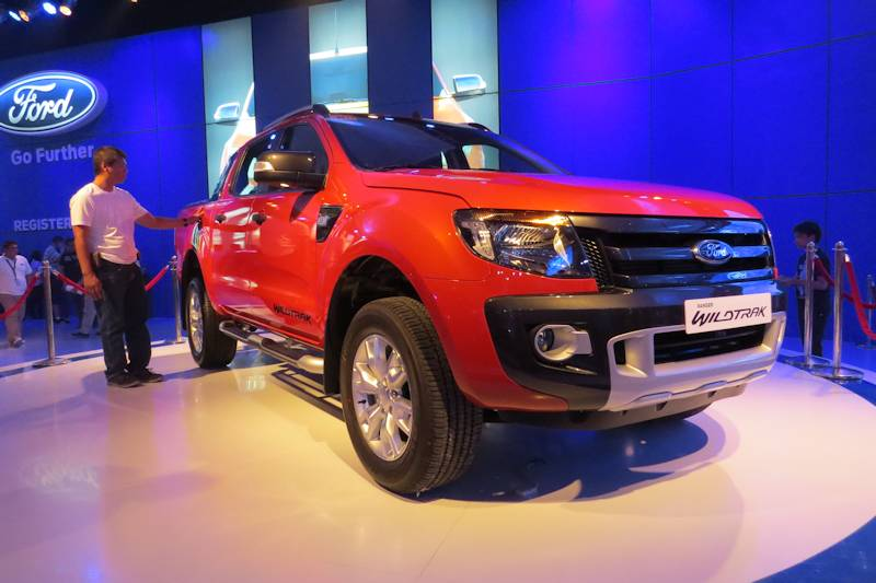 Ford Ranger 2.2l Base 4x2 Mt >> Mias 2013 Ford Expands Ranger Line Up To 10 Variants Philippine