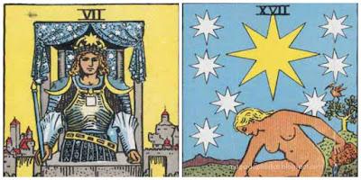 cartas associadas ao numero 7 no tarot
