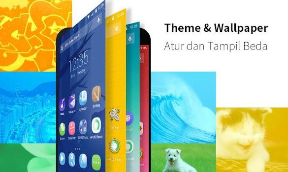 Apus Launcher, Tema Android Yang Keren, Ringan, Cepat Dan Banyak Fitur