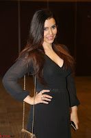 Kyra Dutta in black At Rogue Movie Audio Launch ~  048.JPG