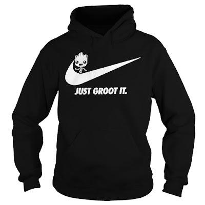 Groot Nike T Shirt Hoodie sweatshirt