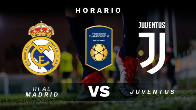 Horario y dónde ver: Real Madrid - Juventus