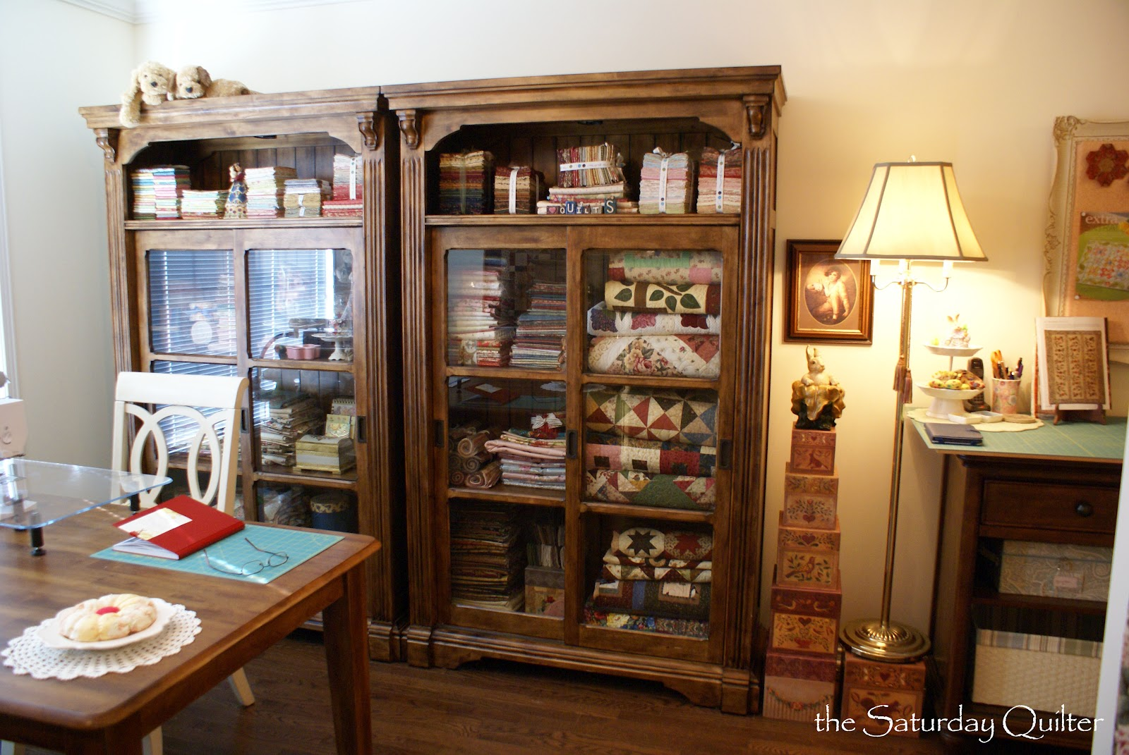 Sewing Room Designs: The Saturday Quilter: Sewing Room Makeover