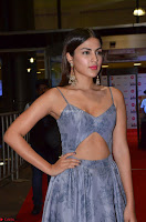Rhea Chakraborty in a Sleeveless Deep neck Choli Dress Stunning Beauty at 64th Jio Filmfare Awards South ~  Exclusive 015.JPG