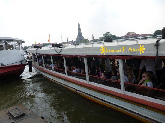 Boat in Chao Phraya River, Bangkok