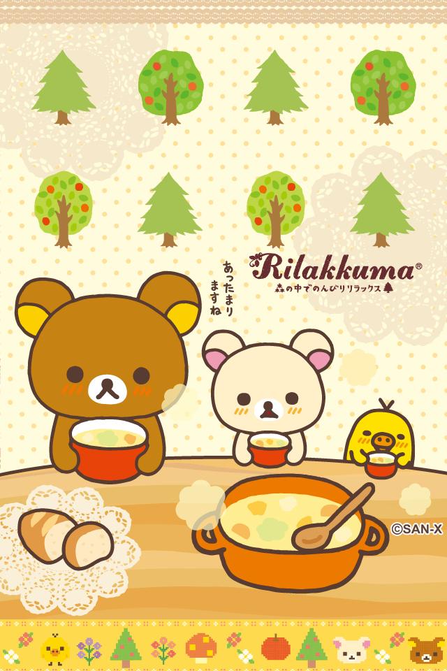 Moustache Wallpaper Hd Rilakkuma Bear Collection 。 ㅅ 。 Picfish