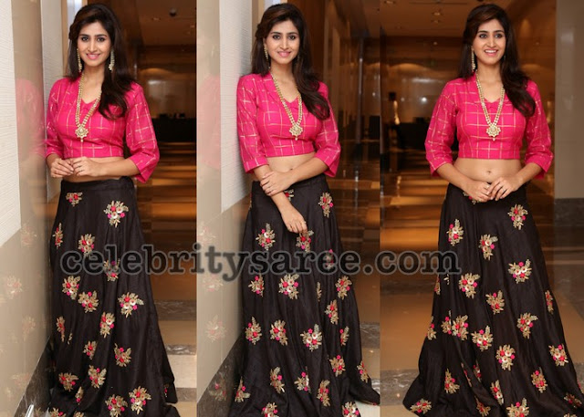 Shamili Black Crop Top