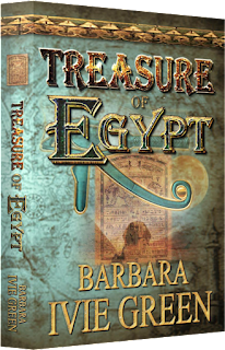 3-D Image of Treasure of Egypt boo cover