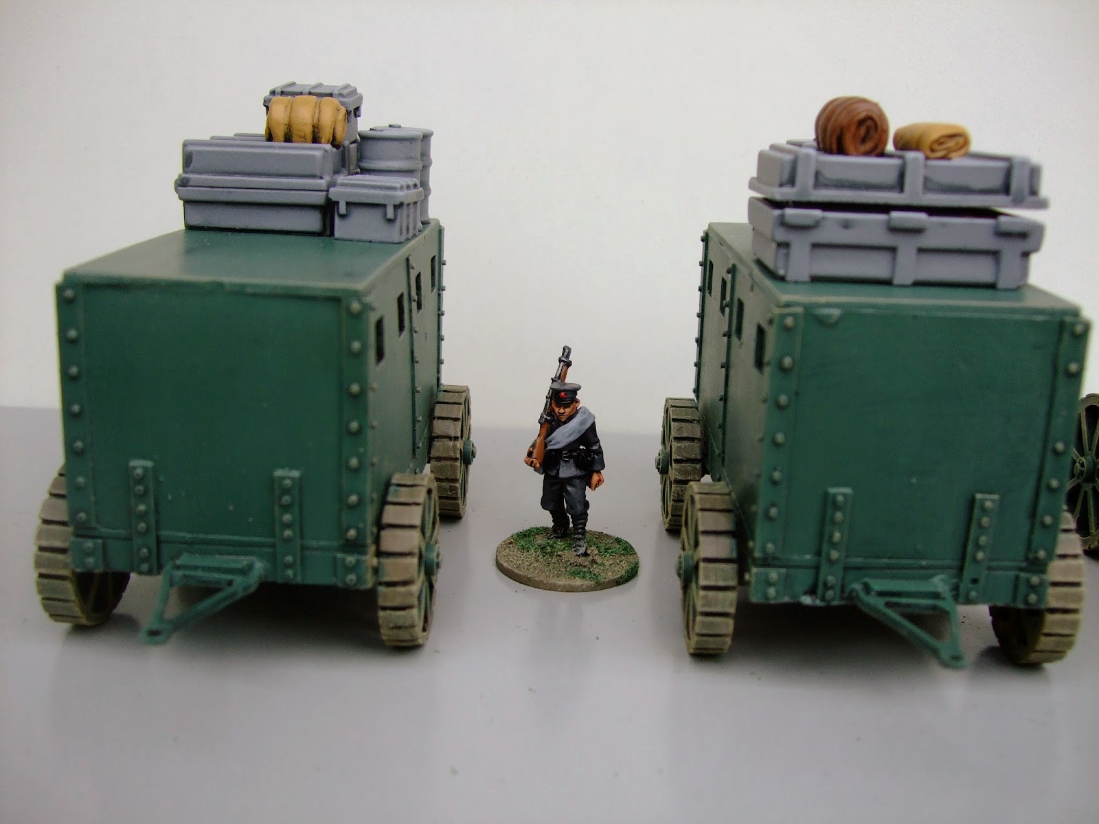 The Angry Lurker 28mm Victorian Sci Fi Armoured Land