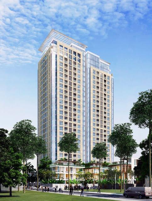 Phối cảnh dự án chung cư MON CENTRAL Láng Hạ