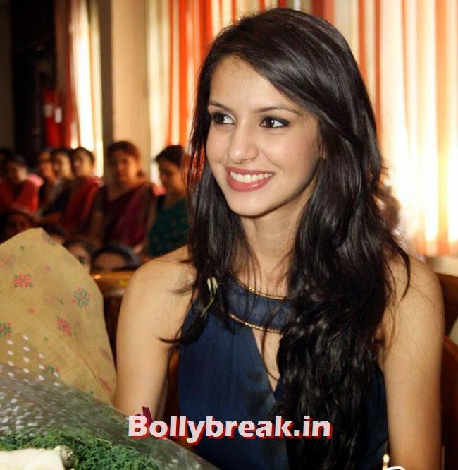 Koyal Rana, Miss India 2014 Koyal Rana at St Thomas Girls School