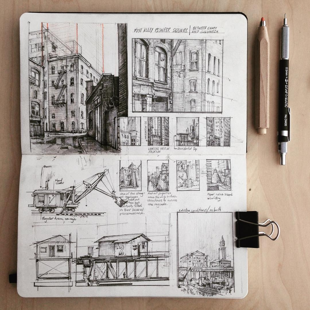 01-Pioneer-Square-Jerome-Tryon-Observations-and-Ideas-in-Moleskine-Drawings-www-designstack-co
