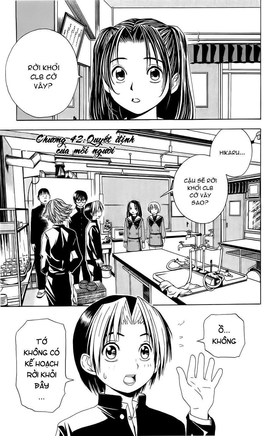 Hikaru No Go hikaru no go chap 42 trang 2