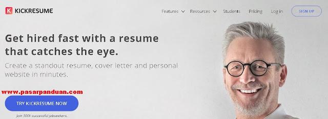 situs penyedia desain template cv yang profesional