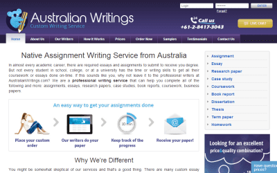 AustralianWritings.com Essay Writing Service Picture