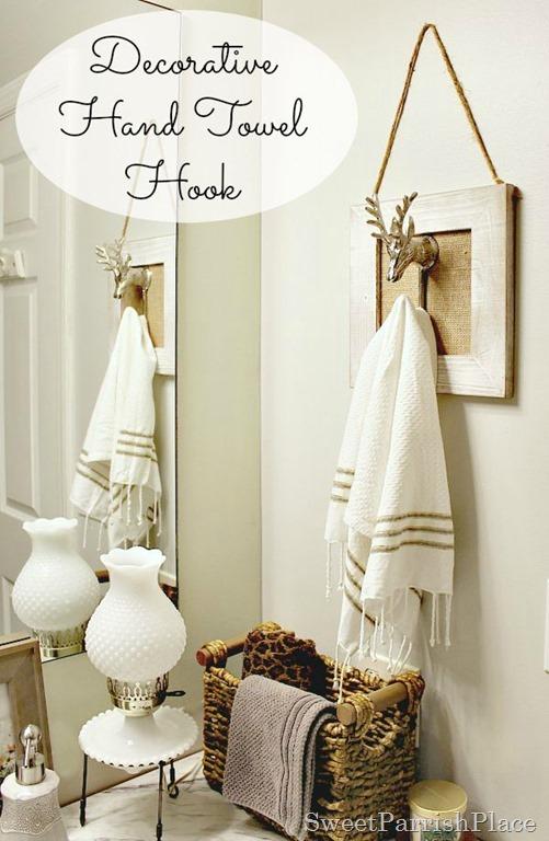 Polished Casual hand towel hook