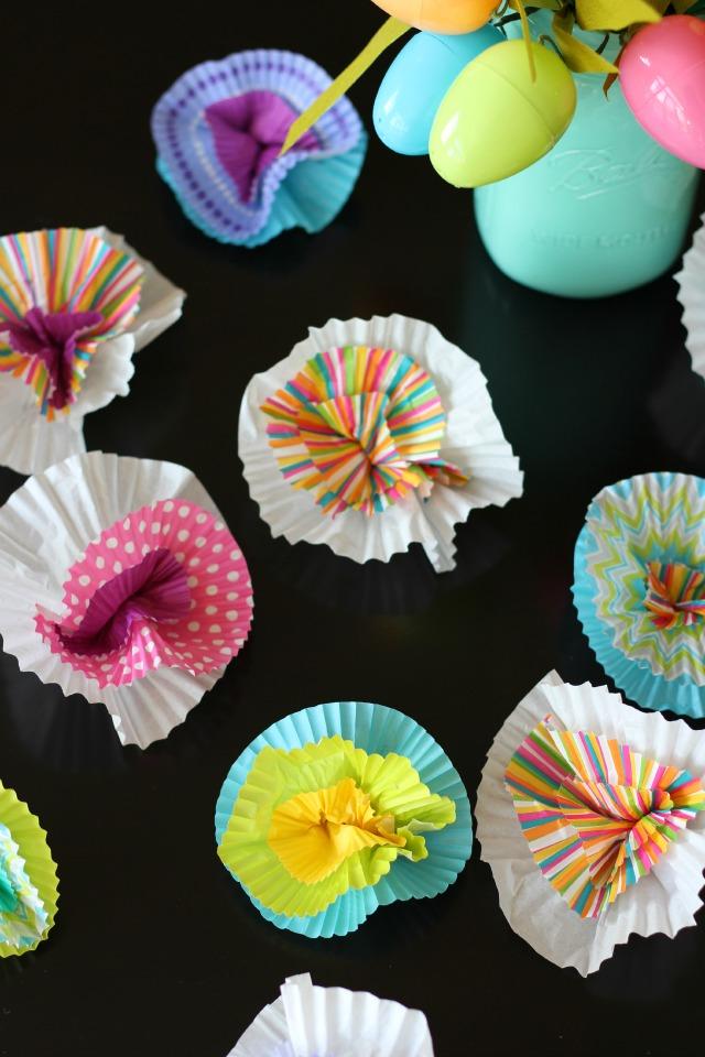 March Diy Night Cupcake Liner Crafts Design Improvised
