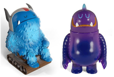 """Cobalt Cruiser"" Colonel Stinson & ""Purple Passion"" Leroy C. Vinyl Figures by Invisible Creature x Super7"