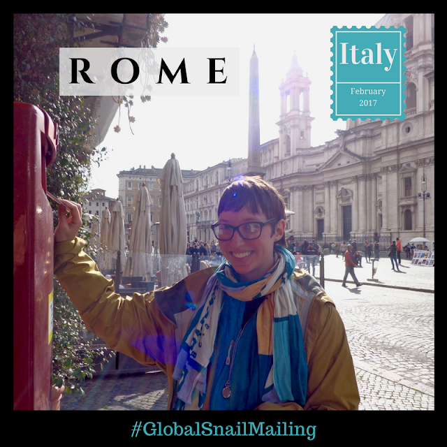 Global Snail Mailing - Rome