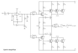 amplifier circuit built up electronic circuit rh elcircuit com Amplifier Diagram Simple Amplifier Schematics