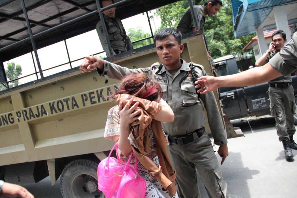 Inhu Terkini Situs Berita Riau Situs Portal Berita Riau Online Terkini Berita Riau Terkini 16 Psk Terjaring Razia Pekat Satpol Pp Pekanbaru