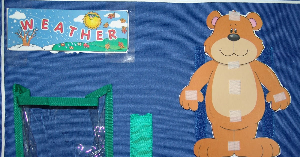 The View from the Pew Free Weather Bear Printable