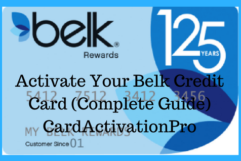 Belk 1800 Number >> Activate Your Belk Credit Card Complete Guide Card