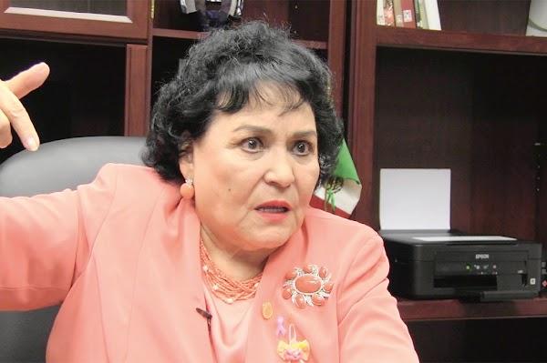 """Peña Nieto fue un excelente presidente, superando incluso a Benito Juárez"": Carmen Salinas"