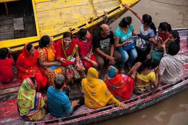 Ghat en Varanasi