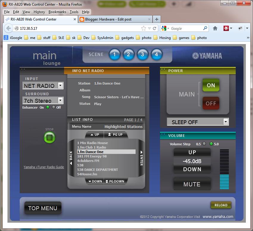 Hardware: Yamaha RX-A820 AV Amplifier Review
