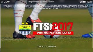 FTS 2017 Update Mod PERSIB Special Viking Apk + Data