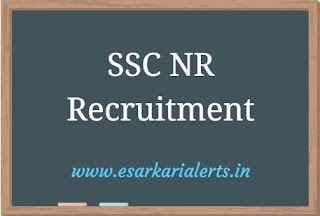 SSC NR Recruitment 2017