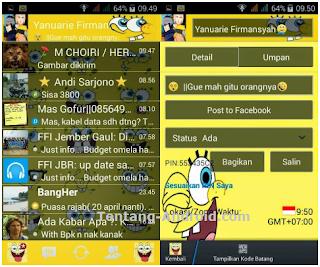 BBM MOD Spongebob v2.7.0.23 Apk Latest Free