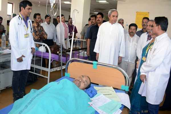 odisha fire tragedy cm Naveen announces rs 5 lakh to kin of dead