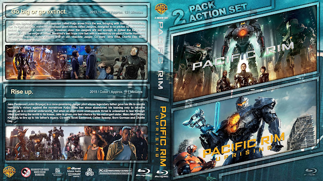 Pacific Rim Double Feature Bluray Cover