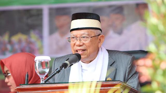 Ma'ruf Amin: Ini Bencana, Tak Ada Kaitan dengan Maksiat, Aceh Daerah Agama Kena Juga