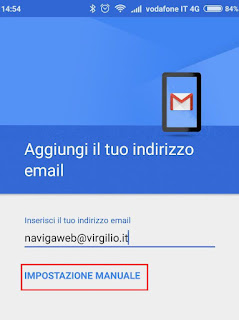 Accedere Virgilio Mail su Android, iPhone, Outlook, Thunderbird e