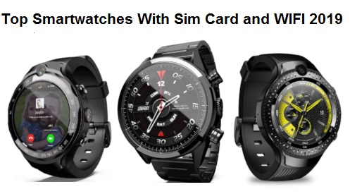 Smartwatches With Sim Card and WIFI