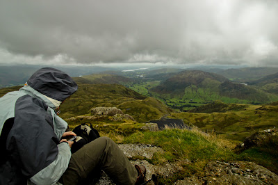 The View From Pavey Ark