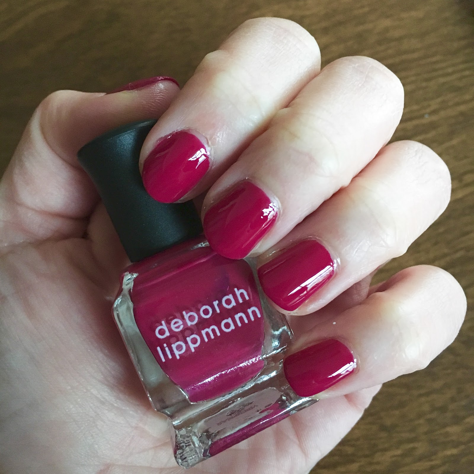 The Beauty of Life: #ManiMonday: Deborah Lippmann Raspberry Jam from ...