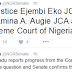 Senate confirms President Buhari's nominees as Supreme Court justices