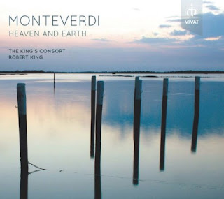 Robert King and the King's Consort recorded Monteverdi's complete sacred music Hyperion and on this disc, originally recorded in 2002, they return to Monteverdi, this time for his secular music on the Vivat label. The perform selections from the opera Orfeo and from the Fifth, Sixth, Seventh and Eighth Books of Madrigals. The performers include Caroline Sampson, Rebecca Outram, Julie Cooper, Sarah Connolly, Diana Moore, Charles Daniels, John Bowen, James Gilchrist, Robert Evans and Michael George along with instrumental performers from the King's Consort directed by Robert King.