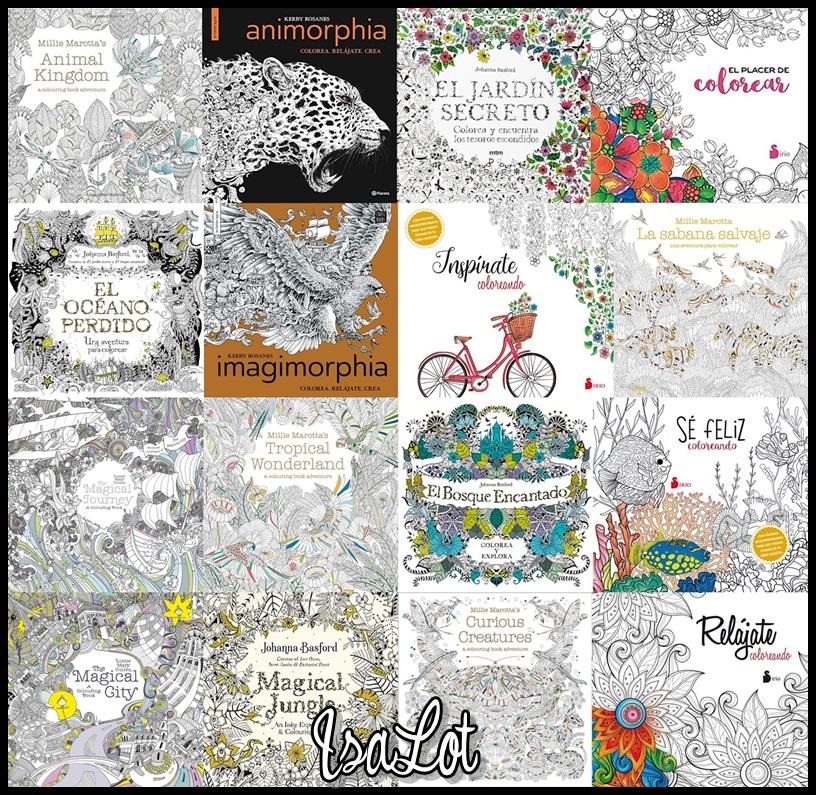 IsaLot Scrapbooking: Libros de colorear para adultos que deberías ...