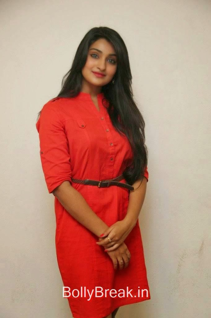 Tollywood Actress Jai Quehaeni, Actress Jai Quehaeni Hot Pics in red Dress