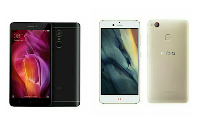 Xiaomi Redmi Note 4 vs Nubia Z11 Mini S