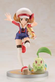 ARTFX J Kotone y Chicorita 1/8 de Pokemon - Kotobukiya