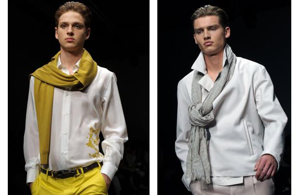 MANtoMEASURE How To Wear Thin Scarves Men