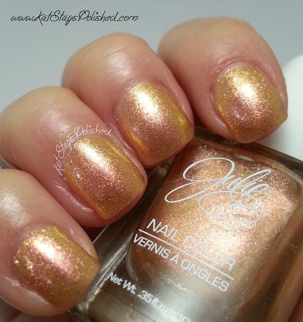 JulieG Golden Sunset | Jet Set Top Coat