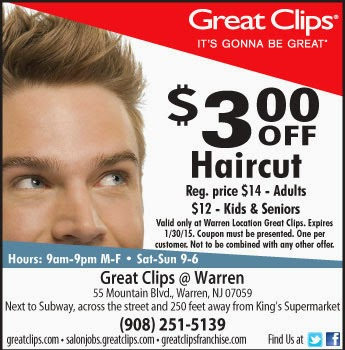 photo regarding Printable Great Clips Coupons named Superb clips 6.99 haircut coupon 2018 / Mucinex allergy
