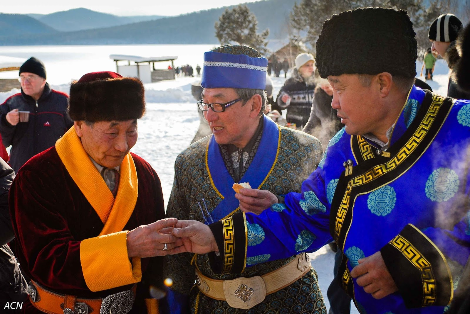 Traditions of the Buryat people: between East and West 45
